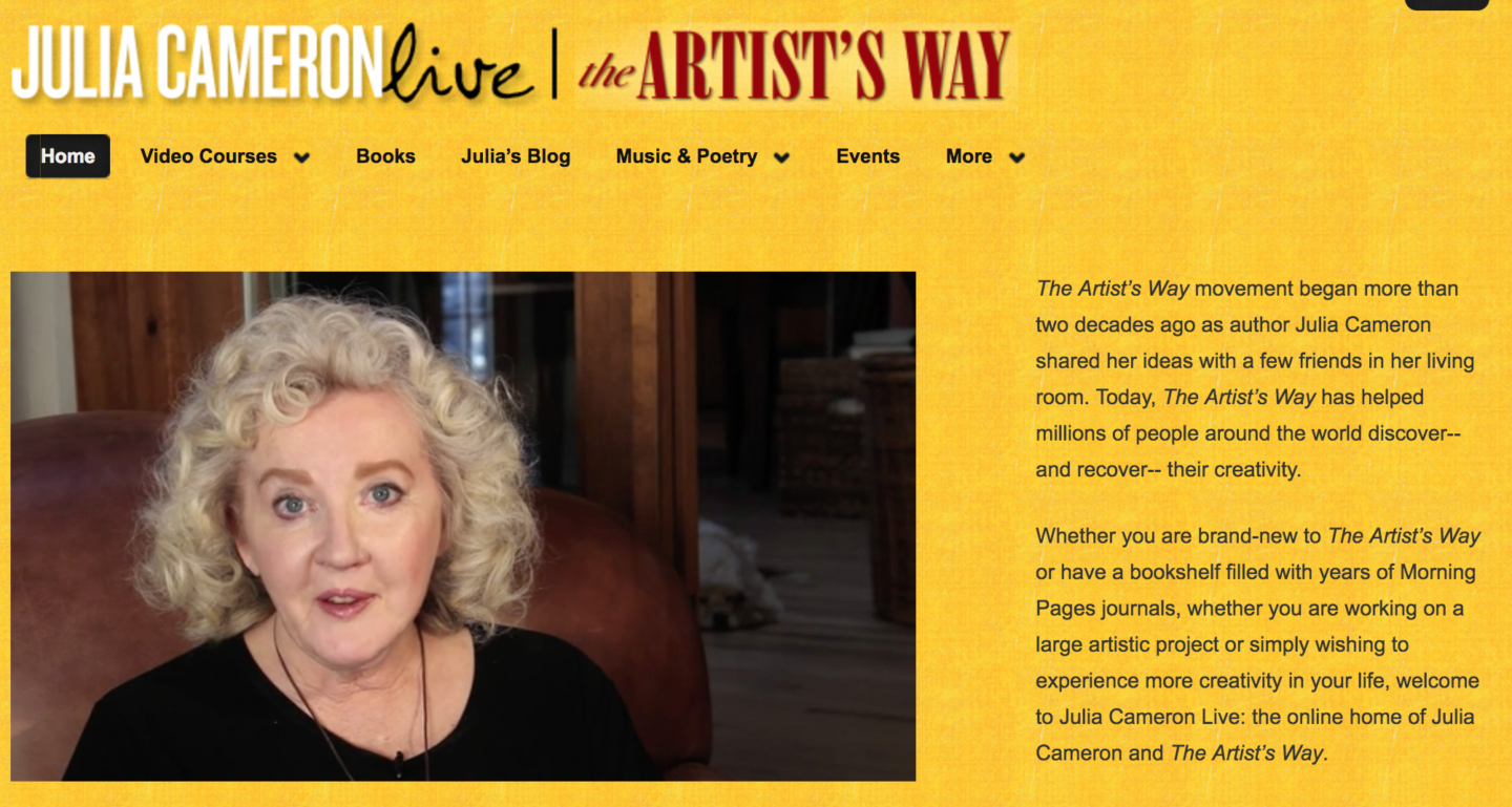 What to ask Julia Cameron?