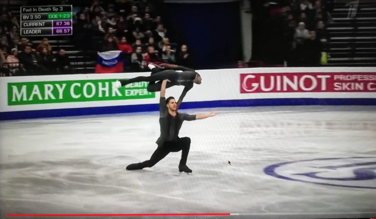 Why am I watching figure skating?