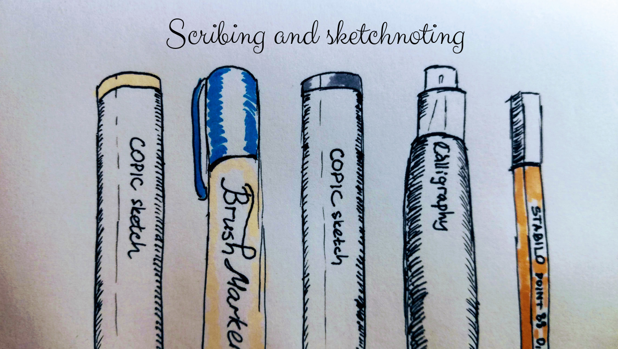 Sketchnoting and scribing. What do you need to start?